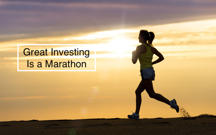 Great Investing Is a Marathon